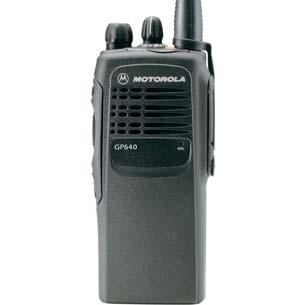 Motorola GP340/640 Radio