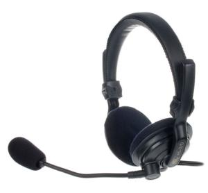 ASL Intercom HS2/D headset