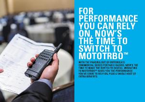 Make the switch to MOTOTRBO...